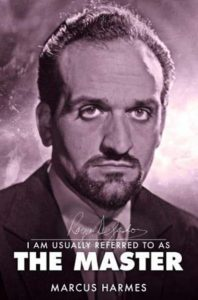 """Front cover of the book """"I am usually referred t as The Master"""" a biography of the first Master - Roger Delgado"""