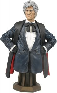 Mini-bust of Jon Pertwee as the 3rd Doctor